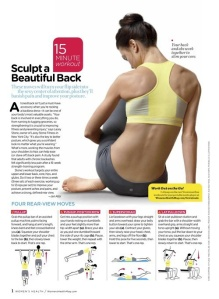 Back exercises'